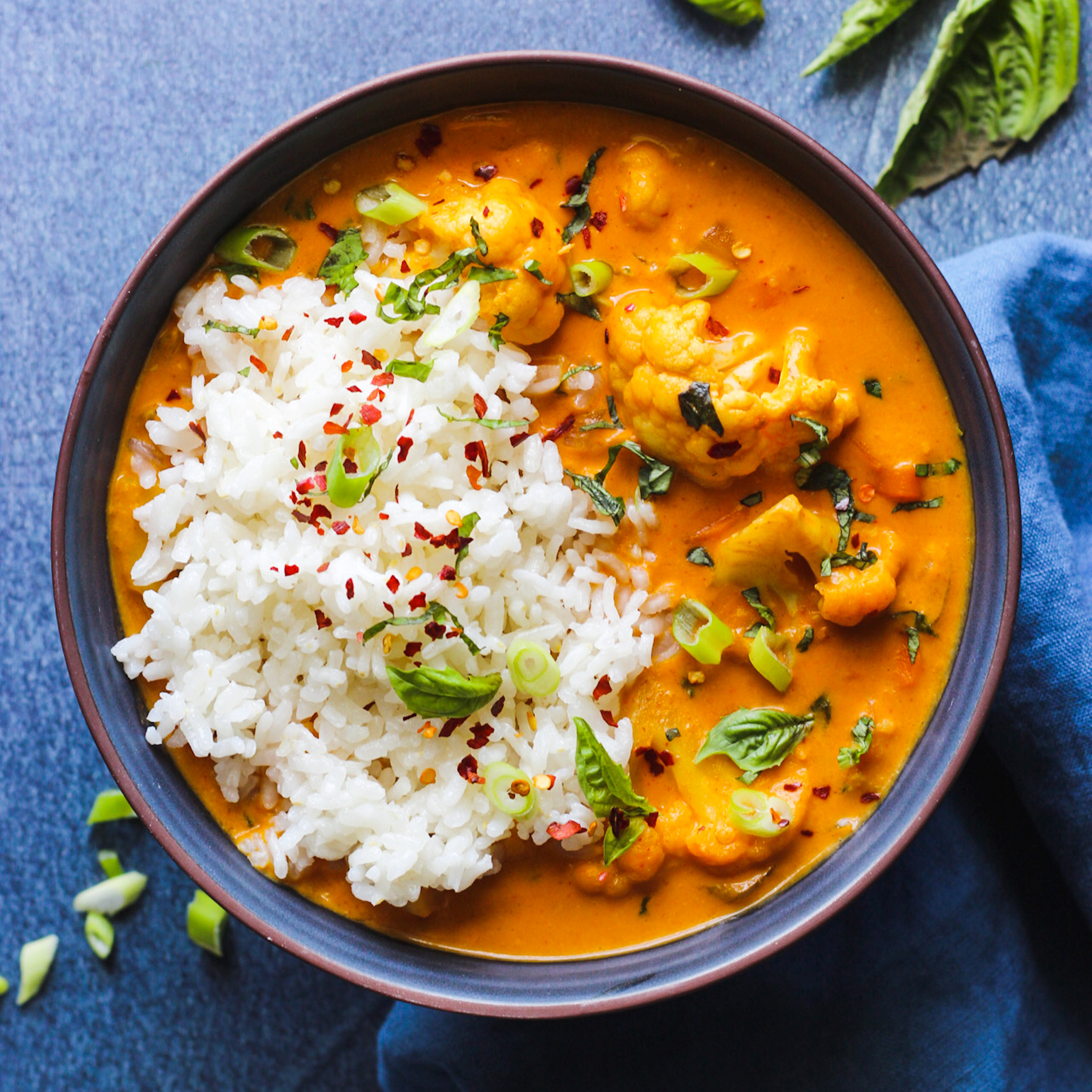 Thai Red Coconut Curry It S All Good Vegan